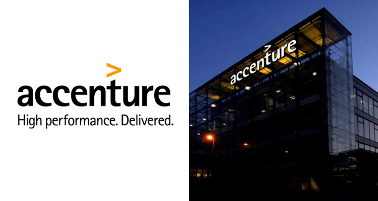 Accenture - Famous Logo And Their Costs - Brand Eagles - Website & Logo Design Company
